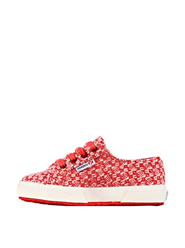 Chaussures Le Superga - 2750-fantasyj 18 - Bambini Red-Pink