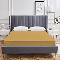 Precious Waterproof Terry Cotton Single Bed Mattress Protector ( 36 x 72 Inches , Beige )