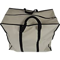 Neusu Strong Clothes Storage or Travel Bag, Large, 55x45x30cm, 70 Litres, Beige