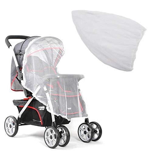 Mückennetz Insektenschutz Netz für Kinderwagen,Universal-Moskito-Netz,Moskitonetz Insektennetz, Fliegennetz für Buggy Babyschale Kinderwagen Autositz Wiege Mückenschutz - Mesh Cover Reisebett