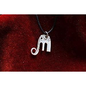 Elefantenbaby Anhänger – Schmuck aus altem Silberbesteck