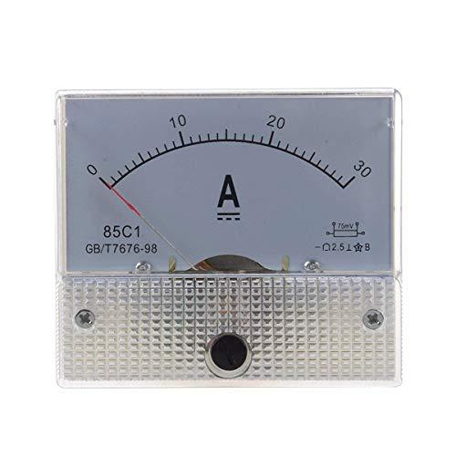 Amperometer Morning May 85C1 Analog Panel Strom Meter DC 30A AMP Amperometer 30a Panel