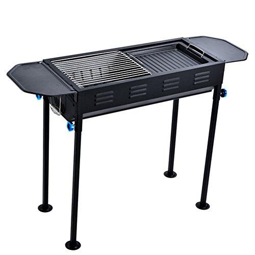TY&WJ Faltbar Holzkohlegrill,Tragbarer Grill Outdoor Abkochen Bbq Für Camping Wandern Barbecue Werkzeug-A 66.5*30*70cm