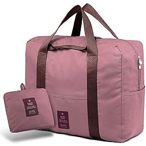 411zSuTkKvL. SS300  - SPAHER Bolsa de Equipaje Bolsas de Viaje Plegable Duffle Bag Ligero Impermeable Organizador de Hombro de Almacenamiento…