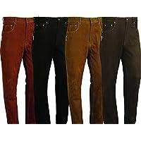 Pantalones de cuero de corte bootcut unisex, deportivos, varios colores disponibles