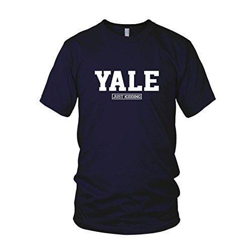 Preisvergleich Produktbild Yale Just Kiddung - Herren T-Shirt, Größe: XL, dunkelblau