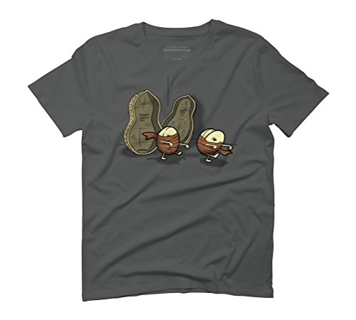 Peanut Mummies Men's Graphic T-Shirt - Design By Humans Anthracite
