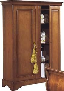 Destock meubles armoire merisier 2 portes for Destock meubles