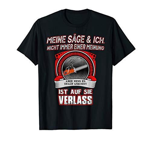 Frauen Holzfäller Kostüm - Forstwirt Spruch Lustig Holzfäller Lumberjack Förster Kostüm T-Shirt