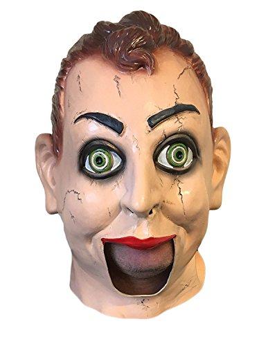 Marionetten Kostüm Für Herren - Gummi johnniestm Scary Latex VENTRILOQUIST Dummy