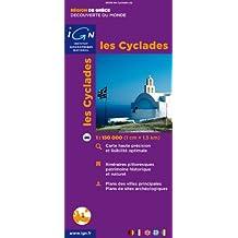 86218 LES CYCLADES  1/150.000