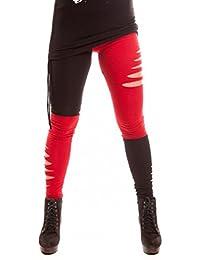 leggings zweifarbig
