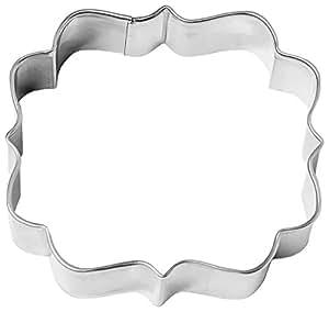 Birkmann 1010716510Emporte-pièce en Forme étiquette Bohème Petit, 6cm, Plastique, Gris, 5x 3x 2cm