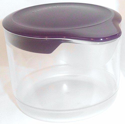 TUPPERWARE Exclusiv TupperTime 250ml lila Milchkännchen Kännchen für Milch Sahne Tupperware Topf