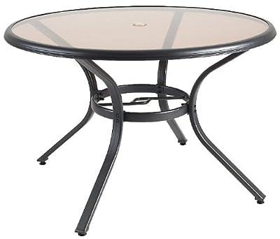120 cm Aluminium Gartentisch Dacore Harbo 75458