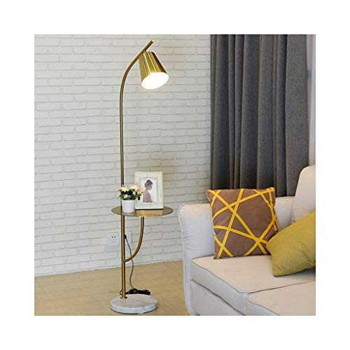 Led einfache moderne stehleuchte wohnzimmer studie tablett kaffeelampe tisch kopf nordic lampen 0611LDD (Size : Remote control switch)