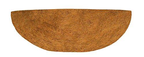 Gardman 05233 Revêtement Intérieur Prémoulé pour Demi-Panier Mural Circulaire Fibre de Coco 50 cm