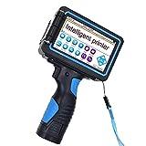 Pistolet à étiquettes de poche, imprimante à jet d'encre à écran tactile de poche intelligent code QR code date de production