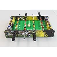 MoKo 100106–Mini Tischfußball Tisch mit Kugeln, mehrfarbig