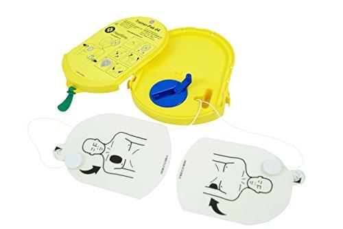 MedX5 Ersatz Trainingskassette mit Aufrollmechanismus, ersatzelektroden für Defi Trainer von HeartSine, (AED)