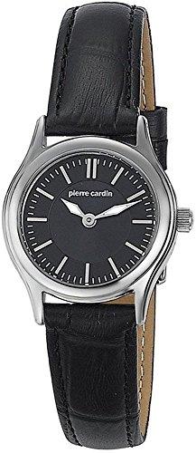 Pierre Cardin Special Collection Orologio da Polso da Donna, Cinturino in Pelle Colore Nero
