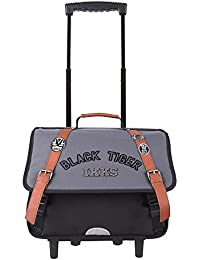 Trolley 38 Ardoise IKKS Black Tiger