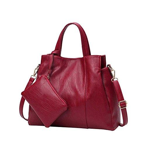 Handtasche Der Frauen Mode Umhängetasche Diagonal Paket Paket Red