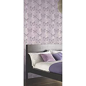 Arthouse Enchantment Wallpaper Midsummer Heather 661204 Sample by Arthouse