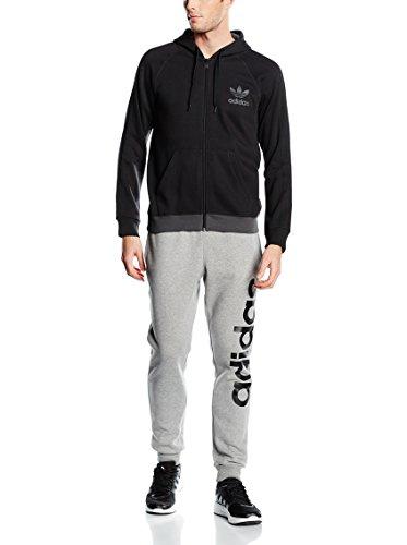 Adidas Originals SPO Trefoil Herren Full Zip Hoody schwarz