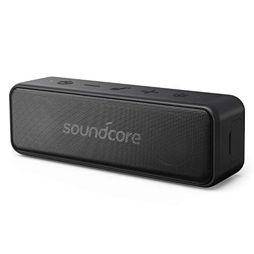 Anker Soundcore Motion B Tragbarer Bluetooth Lautsprecher, Kompaktes Design mit 12W Stereo Sound und starker BassUp Technologie, 12 Stunden Akkulaufzeit, IPX7 Wasserdichte, für Zuhause, Draußen, Reisen und mehr