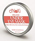 Australian Organic Under Eye Mask for Dark Circles Fine Lines Puffiness and Wrinkles