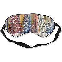 Eye Mask Eyeshade River Oil Painting Sleeping Mask Blindfold Eyepatch Adjustable Head Strap preisvergleich bei billige-tabletten.eu