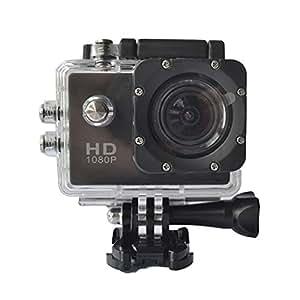 Noza Tec Waterproof Action Sports Camera (Black)