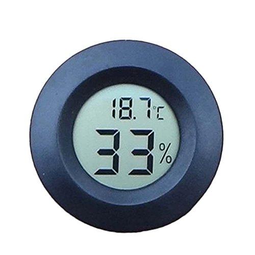 Mini Digital Thermometer Hygrometer Luftfeuchtigkeit Meter Indoor Tester -50 ° C ~ + 70 ° C 10 % ~ 99 % RH (Zufällige Farbe)