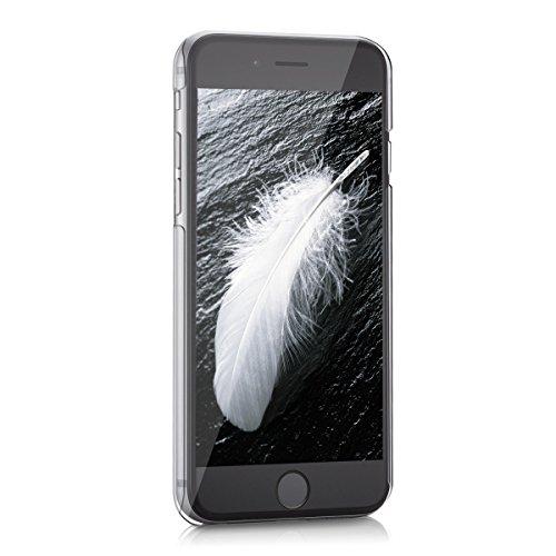 kwmobile Crystal Hülle für Apple iPhone 6 / 6S Hard Case - dünne durchsichtige transparente Schutzhülle Cover klar in Transparent Traumfänger Weiß Transparent
