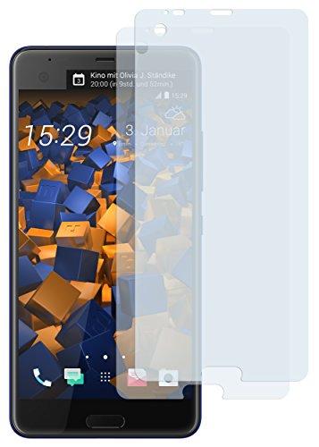 mumbi Schutzfolie kompatibel mit HTC U Ultra Folie klar, Bildschirmschutzfolie (2x)