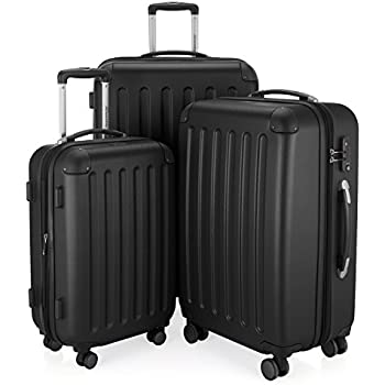 SUITLINE - Bagage à main, Valise cabine, Trolley, 4 roues, ABS très léger, TSA, 55 cm, 34 litres, Burdeos