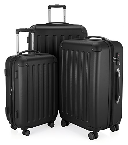 HAUPTSTADTKOFFER - Spree - Set de 3 Valises rigides Bagage Trolley 4 roues