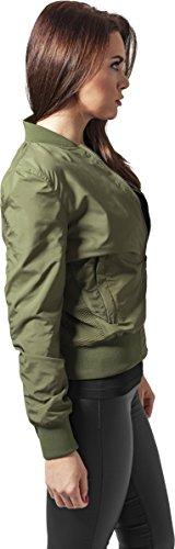 Urban Classics Damen Jacke Ladies Light Bomber Jacket Olive