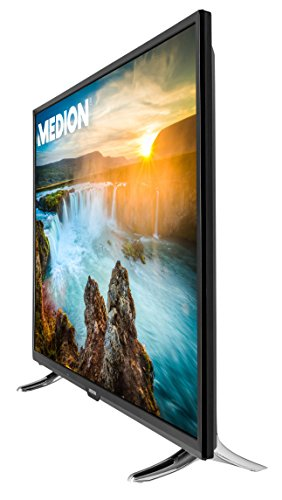 MEDION® LIFE X18061 (MD 31110), 125,7cm (50″) Smart-TV mit LED-Backlight Technologie (Full HD, 600 MPI, HD Triple Tuner, DVB-T2 HD, CI+, HDMI, USB), Netflix App, schwarz - 2