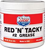 Lucas 10574 Red N Tacky #2 Grease 1Lb Tub (10574)