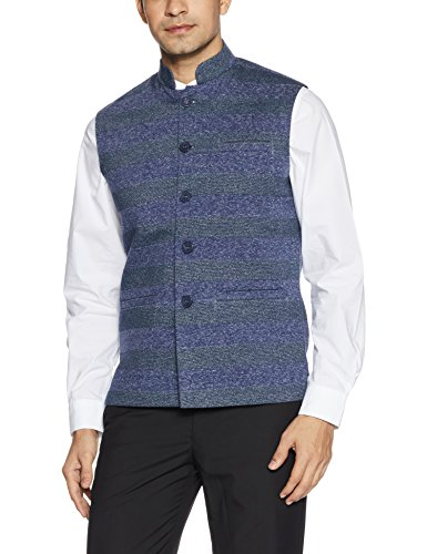 Fort Collins Men's Nehru Jacket (92839 OLNavyXxl)