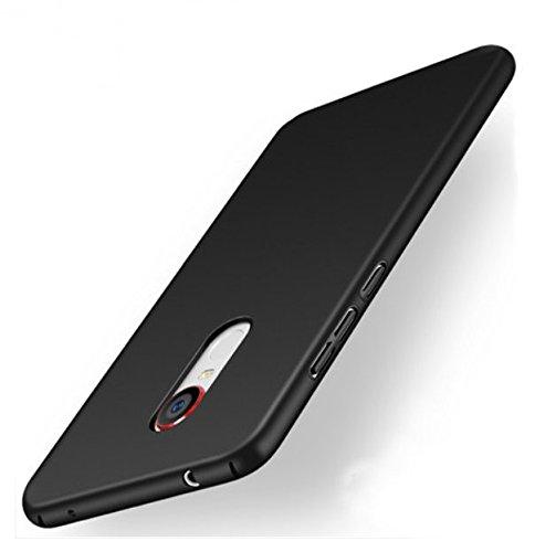 PREVOA ® 丨Colorful Hartplastik Hülle Case Schutzhülle Tasche für Nubia NX523J Z11 Max Smartphone (15 cm (6 Zoll) - (Schwarz)