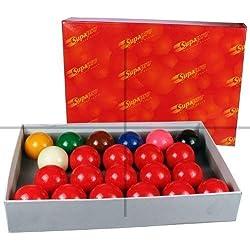 ClubKing Ltd - Juego de 22 bolas de snooker (52,4 mm)