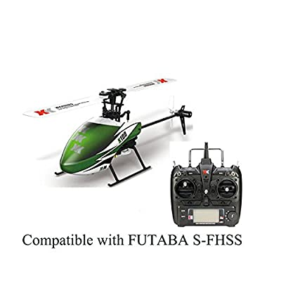 Ocamo XK K100 6CH 3D 6G System Brushless Motor RC Helicopter with High performance Gyro and self-stabilization technology 3D flips and rolls