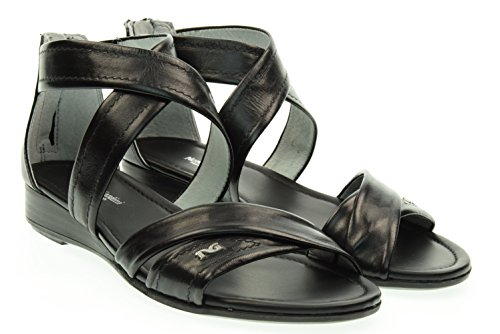 NERO GIARDINI donna sandali bassi P615560D/100 Nero