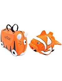 Trunki Ride-on Suitcase und PaddlePak Koffer-Set
