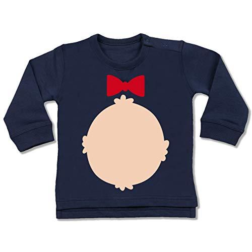 Grizzly Baby Bär Kostüm - Shirtracer Karneval und Fasching Baby - Bär Kostüm Karneval - 18-24 Monate - Navy Blau - BZ31 - Baby Pullover