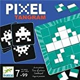 Djeco  - Juego pixel tangram