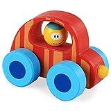 DDG EDMMS Bois bébé Enfant Voiture Jouet coloré Mignon coloré Mini-Enfants d'apprentissage en Bois Jouet Voiture de Style 3 Cadeau Jouet éducatif
